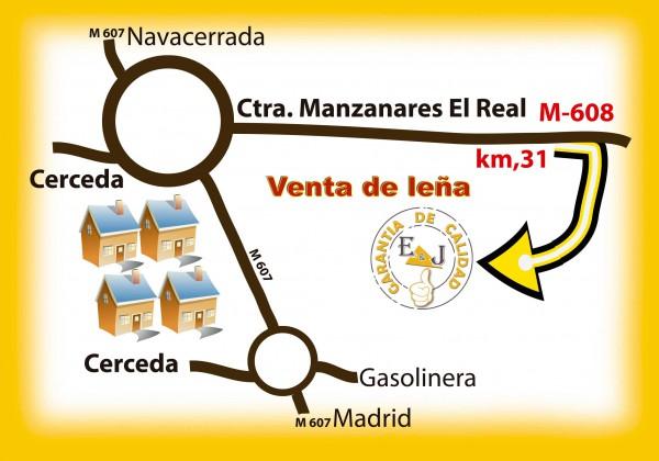 compra leña de encina en cerca de Becerril de la Sierra, Moralzarzal, Manzanares El Real, El Boalo, Colmenar viejo.