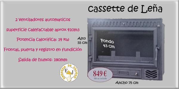 Venta de cassettes para chimeneas de le a para tu hogar - Cassette de lena ...