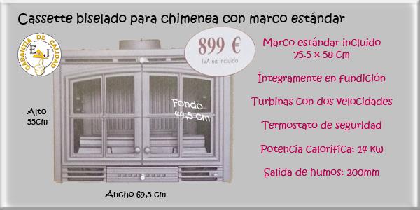 Venta de cassettes para chimeneas de le a para tu hogar for Cassettes para chimeneas