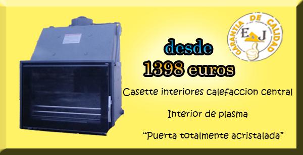 Casette de le a para calefacci n central de su hogar - Calefaccion con chimenea de lena ...