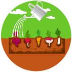 Abono orgánico para huerto