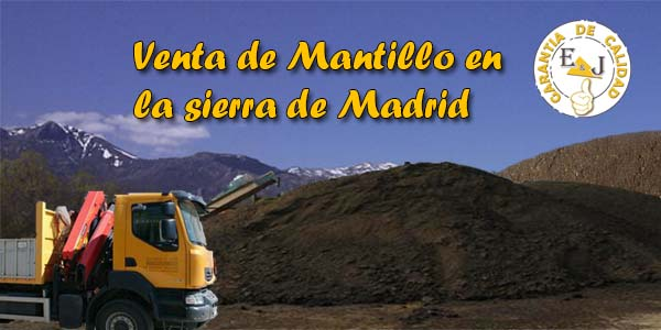 Suministro de mantillo en Madrid